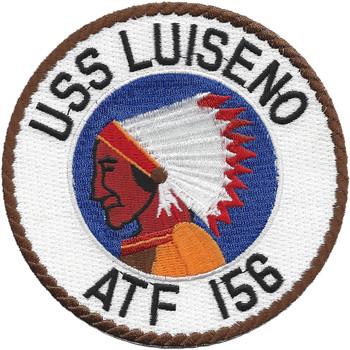 USS Luiseno ATF 156 Fleet Ocean Tug Ship Patch