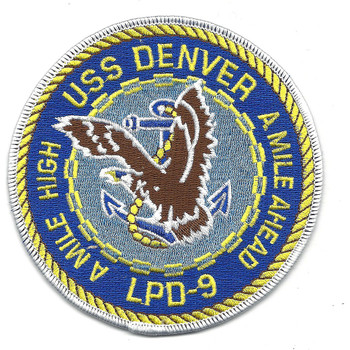 USS  LPD-9 Amphibious Transport Dock Ship Patch