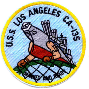 USS Los Angles CA-135 Patch