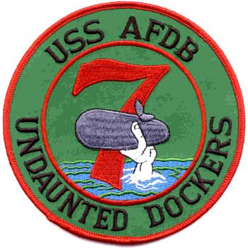 USS Los Alamos AFDB 7 Patch