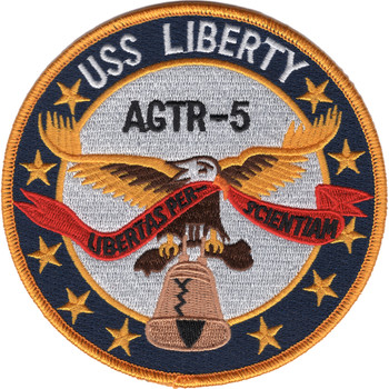 USS Liberty AGTR-5 Patch
