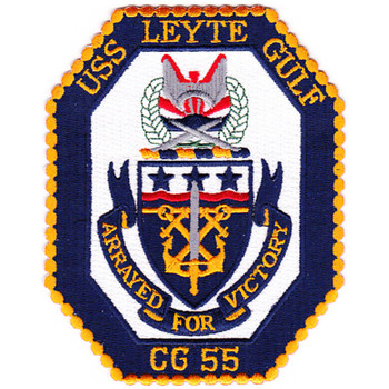 USS Leyte Gulf CG-55 Guided Missile Cruise Patch