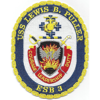 USS Lewis B. Puller ESB-3(NC)  Patch