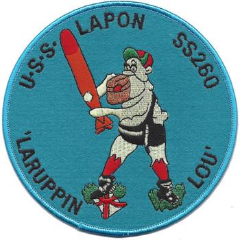 USS Lapon SS-260 Patch