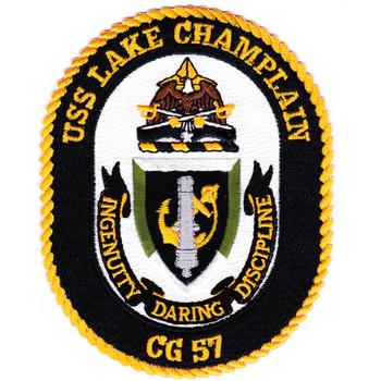 USS Lake Champlain CG-57 Patch