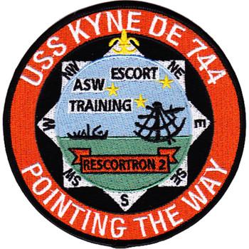 USS Kyne DE-744 Patch
