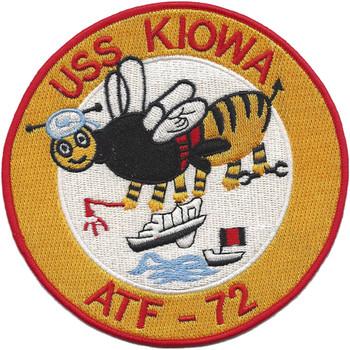 USS Kiowa ATF-72 Patch