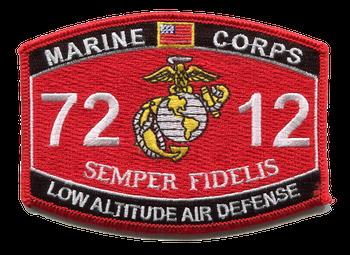 7212 Low Altitude Air Defense MOS Patch