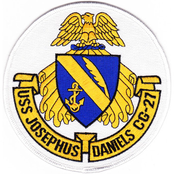 USS Josephus Daniels CG-27 Patch