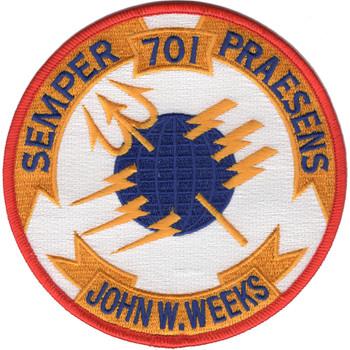 USS John W. Weeks DD-701 Patch