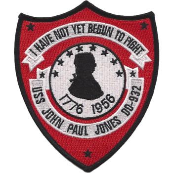 USS John Paul Jones DD-932 Patch