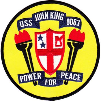 USS John King DDG-3 Patch