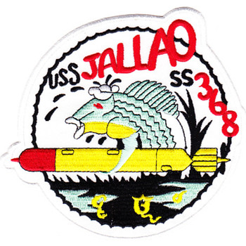 USS Jallao SS-368 Diesel Electric Submarine Second Version Patch