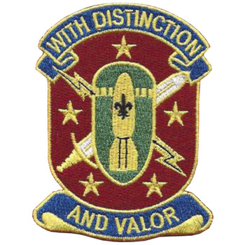 71st Ordnance Group Patch With Distinction And Valor