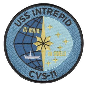 USS Intrepid CVS-11 Aircraft Carrier Ship Patch