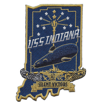 USS Indiana SSN 789 Patch
