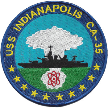 USS Indianapolis CA-35 Patch