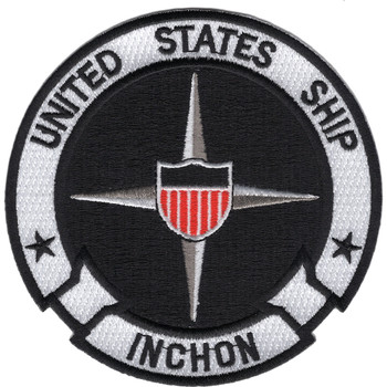 USS Inchon LPH-12 Amphibious Assault Helicopter Patch