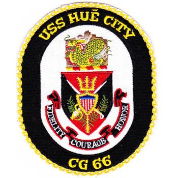 USS Hue City CG-66 Patch