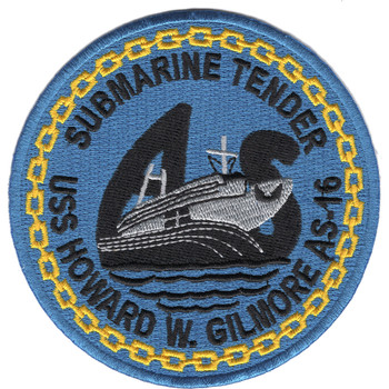 USS Howard W. Gilmore AS-16 Patch