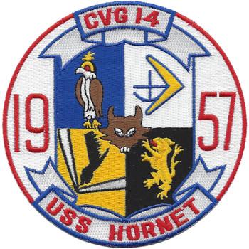 USS Hornet CVS-12/CVG-14-1957 Patch