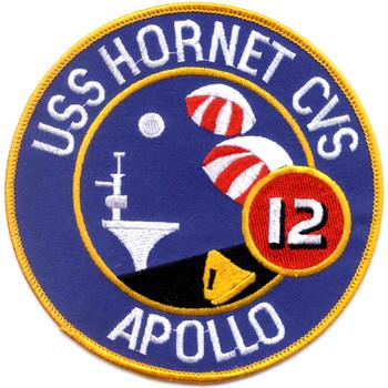 USS Hornet CVS-12 Carrier Ship Patch Apollo 12 Recovery