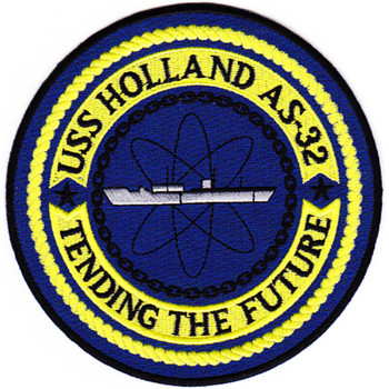 USS Holland AS-32 Submarine Tender Ship Patch