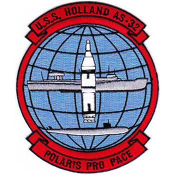 USS Holland AS-32 Polaris Pro Pace Patch
