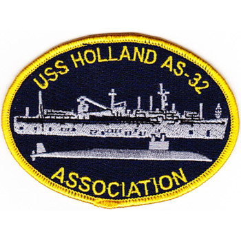 USS Holland AS-32 Association Patch