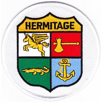 USS Hermitage LSD 34 Dock Landing Ship Patch