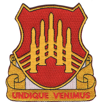 71st Air Defense Artillery Regiment DUI Patch