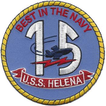 USS Helena CA-75 Patch