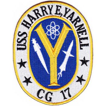 USS Harry E Yarnell CG-17 Patch