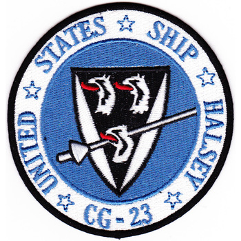 USS Halsey CG-23 Patch