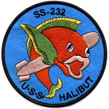 USS Halibut SS-232 Patch