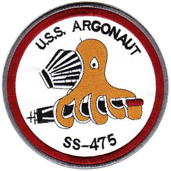 USS Argonaut SS-475 Third Version Patch
