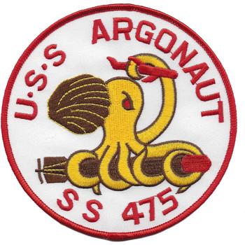 USS ARGONAUT SS-475 Submarine Fourth Style Patch