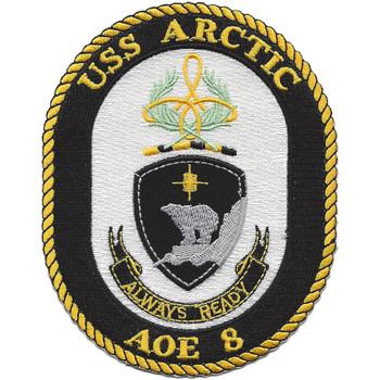 USS Arctic City AOE-8 Patch