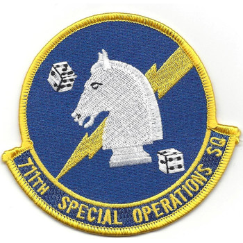 711th Special Operations Squadron Patch