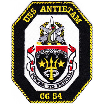 USS Antietam CG-54 Patch