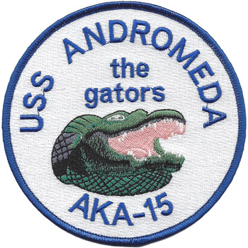 USS Andromeda AKA-15 Attack Cargo Ship Patch