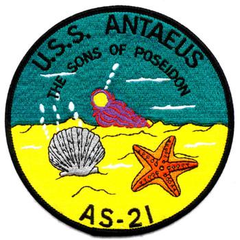 USS Antaeus AS-21 Patch