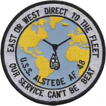 USS Alstede AF-48 Stores Ship Patch