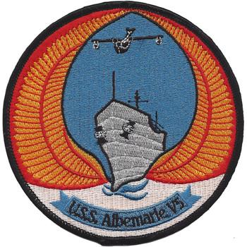 USS Albemarle AV-5 Patch