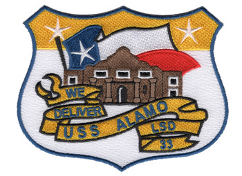 USS Alamo LSD-33 Patch
