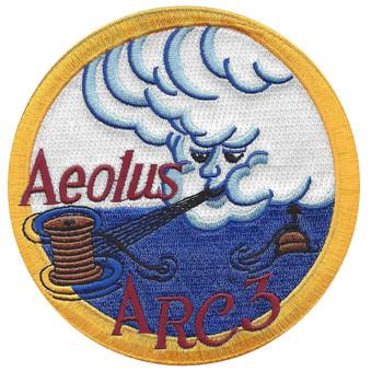 USS Aeolus ARC-3 Attack Cargo Ship Patch
