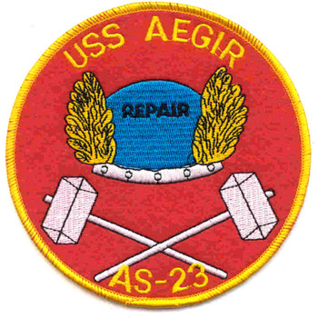 USS Aegir AS-23 Patch