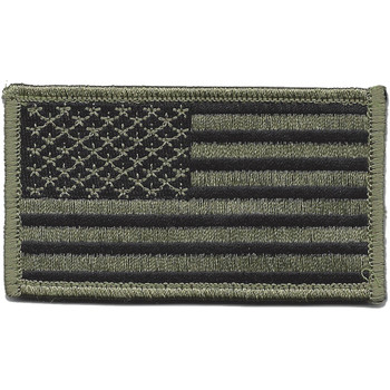 U.S. Flag ACU Right Sleeve Patch Hook And Loop