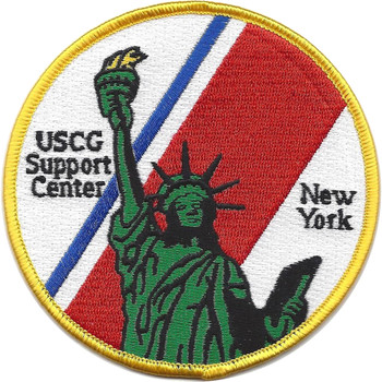 U.S. Coast Guard Support Center New York Patch