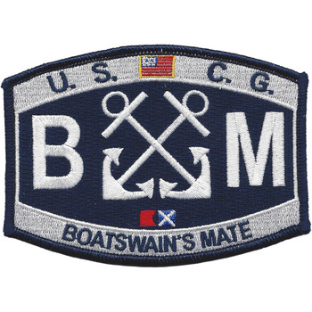 U.S. Coast Guard BM-Boatswains Mate Patch